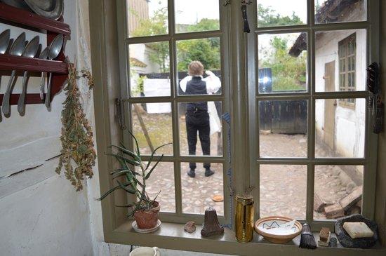 Den Gamle By, musée national de plein air d'histoire et de culture urbaine : View from house