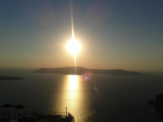 Allure Suites: Sonnenuntergang