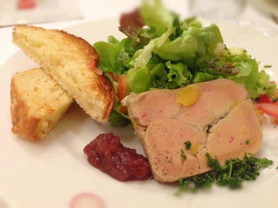 Clement Marot: Salade gourmande de foie gras et magret fumé maisons