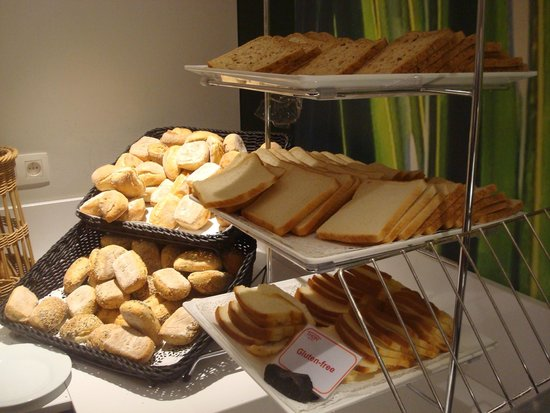 Thon Hotel Brussels City Centre: Desayuno