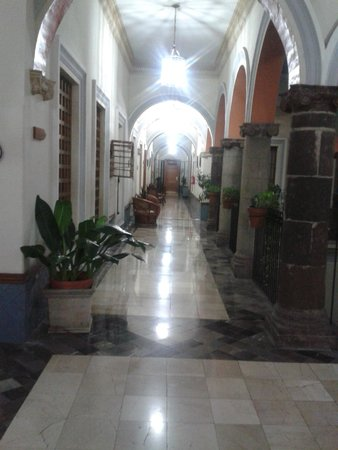 Best Western Hotel Ceballos: Pasillo del Hotel