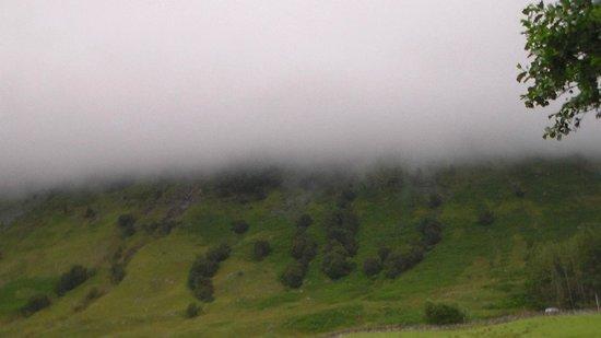 Achintee Farm: Misty Mountain (Ben Nevis)