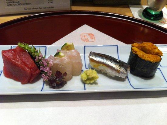 Shinjukukappo Nakajima: Sushi/Sushimi