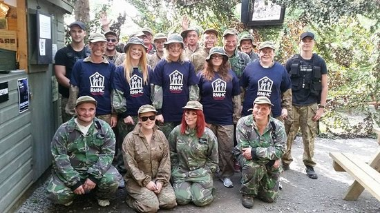 Battlefield Live Pembrokeshire Laser Combat: Charity Laser Tag Day