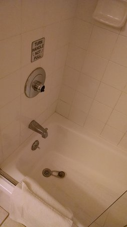 The Sea View Inn at the Beach : Shower with missing handle