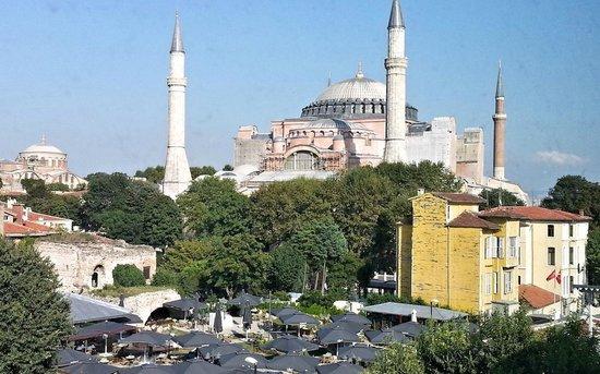 Hagia Sophia Hotel Istanbul Old City: The Hagia Sophia