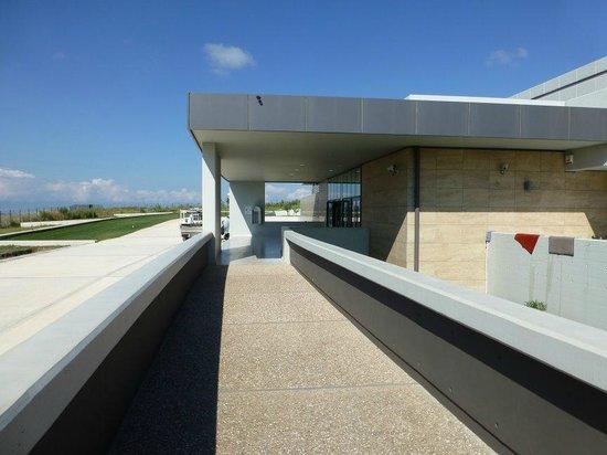 Archaeological Museum of Pella: Meuseum Entrance