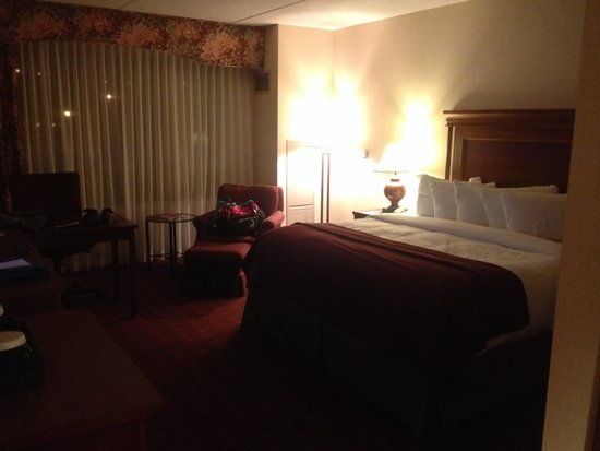 The Inn at Virginia Tech and Skelton Conference Center: Perfect size room