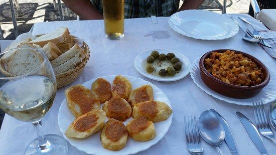 Bar Quijote Gil: Patatas