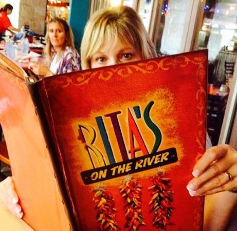 Rita's on the River : Big Menu, Big Ritas