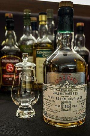 Daft Jamie's Restaurant: whisky