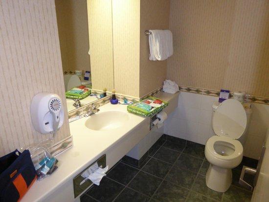Best Western Plus Suites Downtown: Bathroom