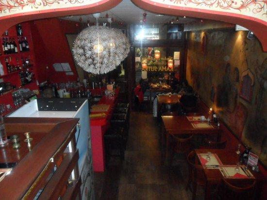 Indian Restaurant Kamasutra: dall'interno