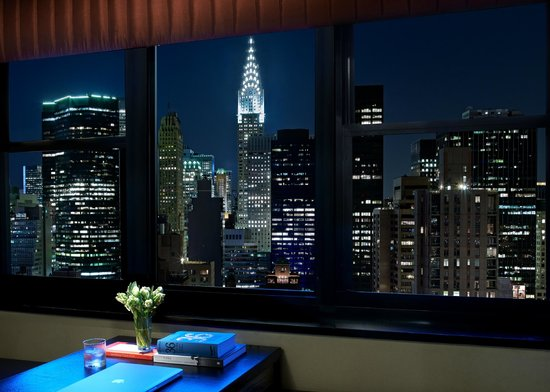 Dumont NYC–an Affinia hotel: nning Views of the Chrysler Building from select Skyline Suites
