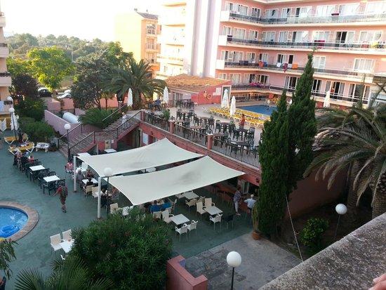 Playamar : Vista hotel