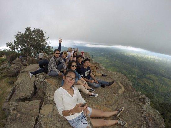 カンボジアの大地 - プレアヴィ...