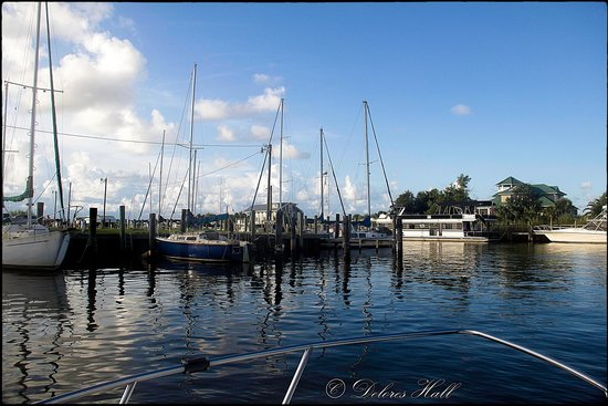 Sportsman's Lodge Motel & Marina: Boats Ramp in Apalachicola