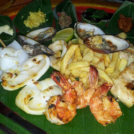 Tekor Bali: seafood platter ahmazing!