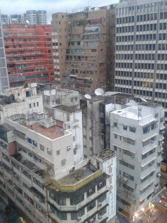 A3 Hotel Hong Kong: View from room