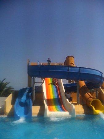 Helya Beach & SPA : tobogans