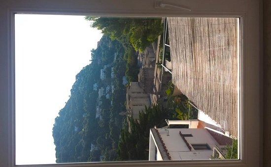 Hotel La Tosca: View from room.