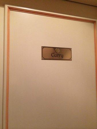 Lanterna di Marco Polo: 3階(イタリアでいう2階)の部屋(1日目と2日目に宿泊