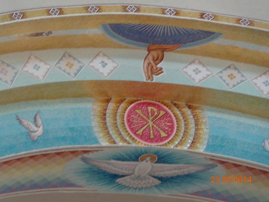 Orthodox Autocephalous Church of Albania: Фреска на алтарем