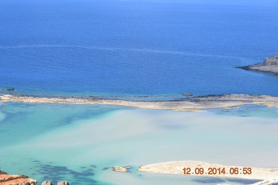 Athina Beach Hotel : spiaggia di balos