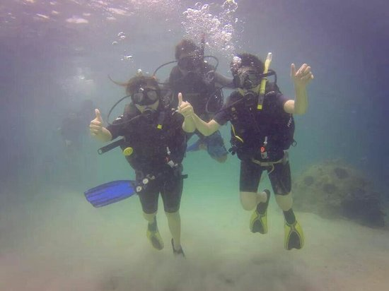 Diverse Borneo: Great and first diving!