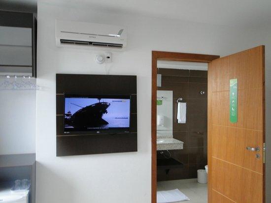 Che Lagarto Hostel & Suites Foz do Iguacu: O quarto.