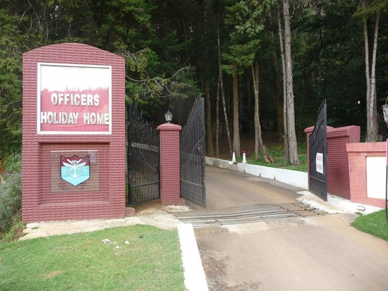 Ratan Tata Officers Holiday Home (RTOHH): Main Entry Gate