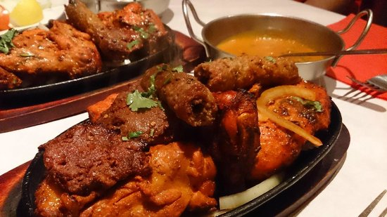 Little India: 1st Class Tandoori Mix Meal. Scottish Referendum Curry Night !