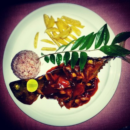 Ananda Home Stay: Dinner time