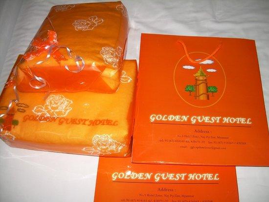 Golden Guest Hotel: Presents
