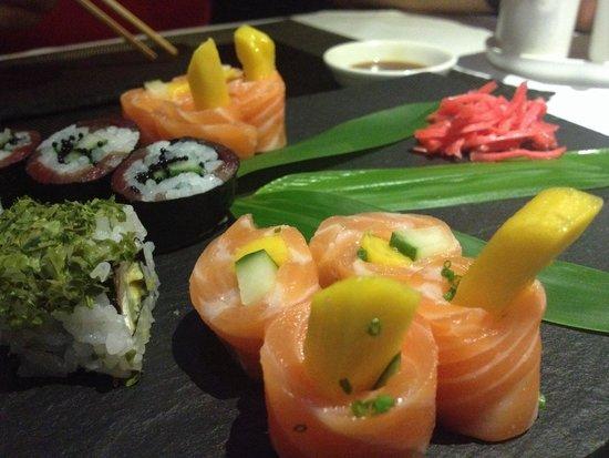 Sushi Place Foz: Estou a comentar esta foto e já estou com fome outra vês!