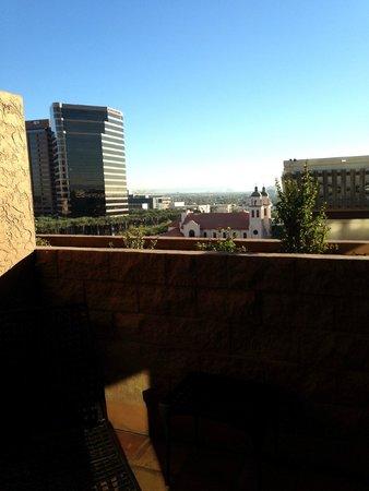 Hyatt Regency Phoenix : View from the room