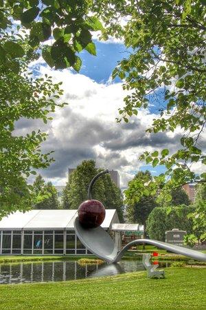 Minneapolis Sculpture Garden Picture Of Minneapolis Sculpture Garden Minneapolis Tripadvisor