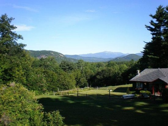 Wildflowers Inn: Looking out off the deck...