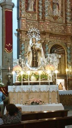 Iglesia de Nuestra Señora de la Peña de Francia: внутри церкви