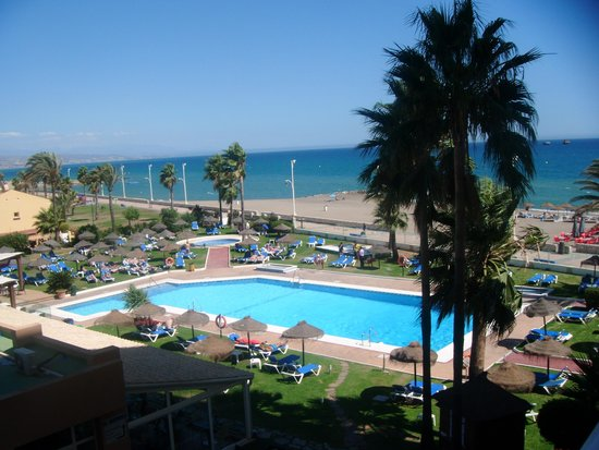 Tryp Malaga Guadalmar Hotel: view from our room