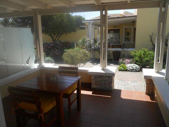 Cornerstone Guesthouse: Balcony