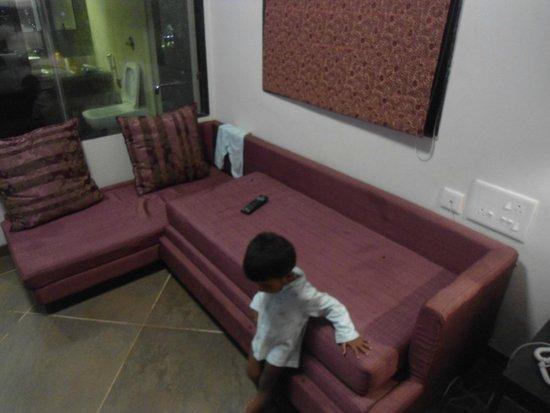 Resort De Crossroads : SOFA CUM BED