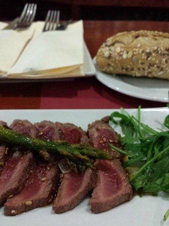El Reservado: Tataki de buey