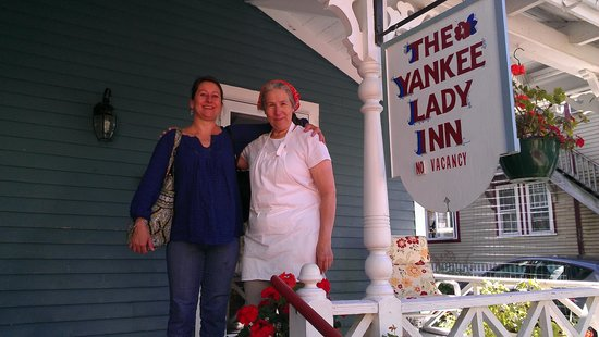 The Yankee Lady Inn: Ina with June
