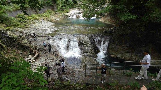 Shima no Oketsu: 甌穴全景