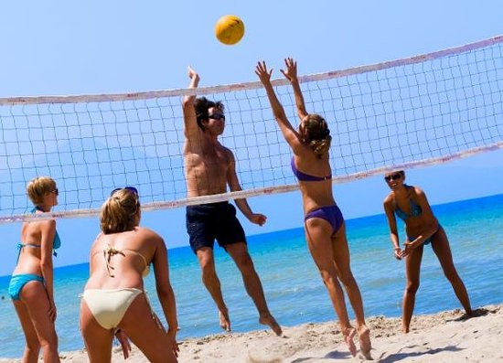 Atlantique Holiday Club: Beach Volley