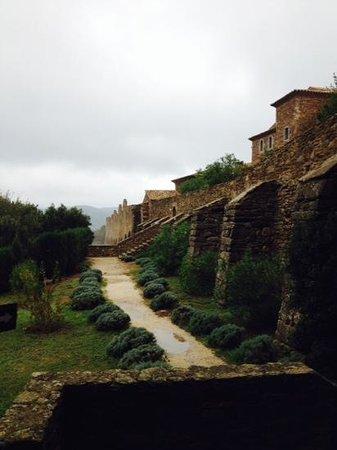 Chartreuse de la Verne : the monastery