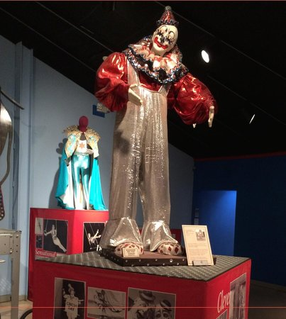 The Ringling: Front lobby of Circus Museum