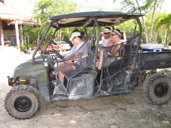 Edventure Tours: ATV into jungle