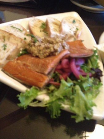 Spotted Dog Cafe : Smoked Salmon And trout appetizer